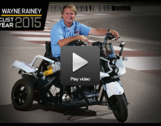2015 MOTORCYCLIST OF THE YEAR: WAYNE RAINEY